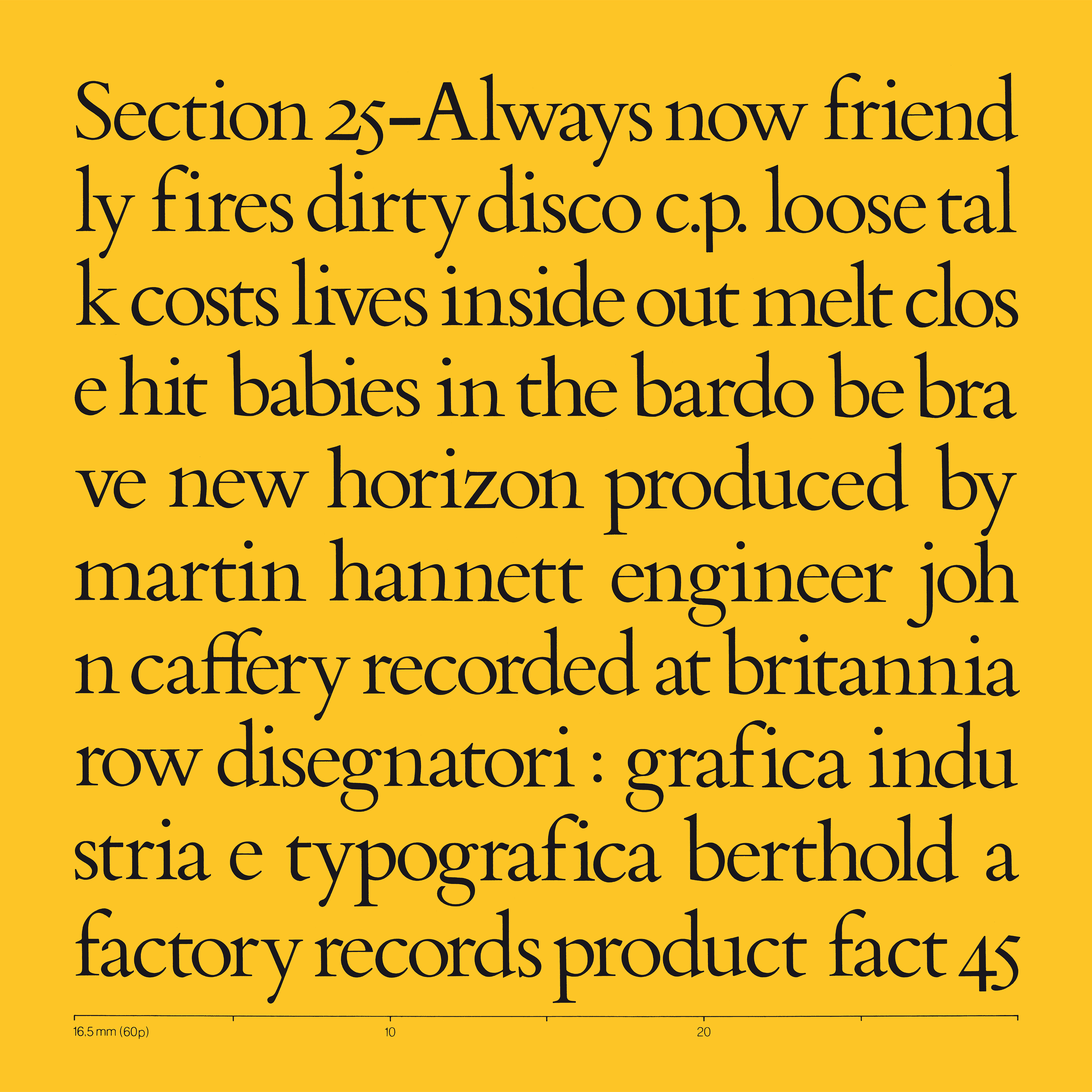 Section 25 - Always Now box set [FBN 3-045]