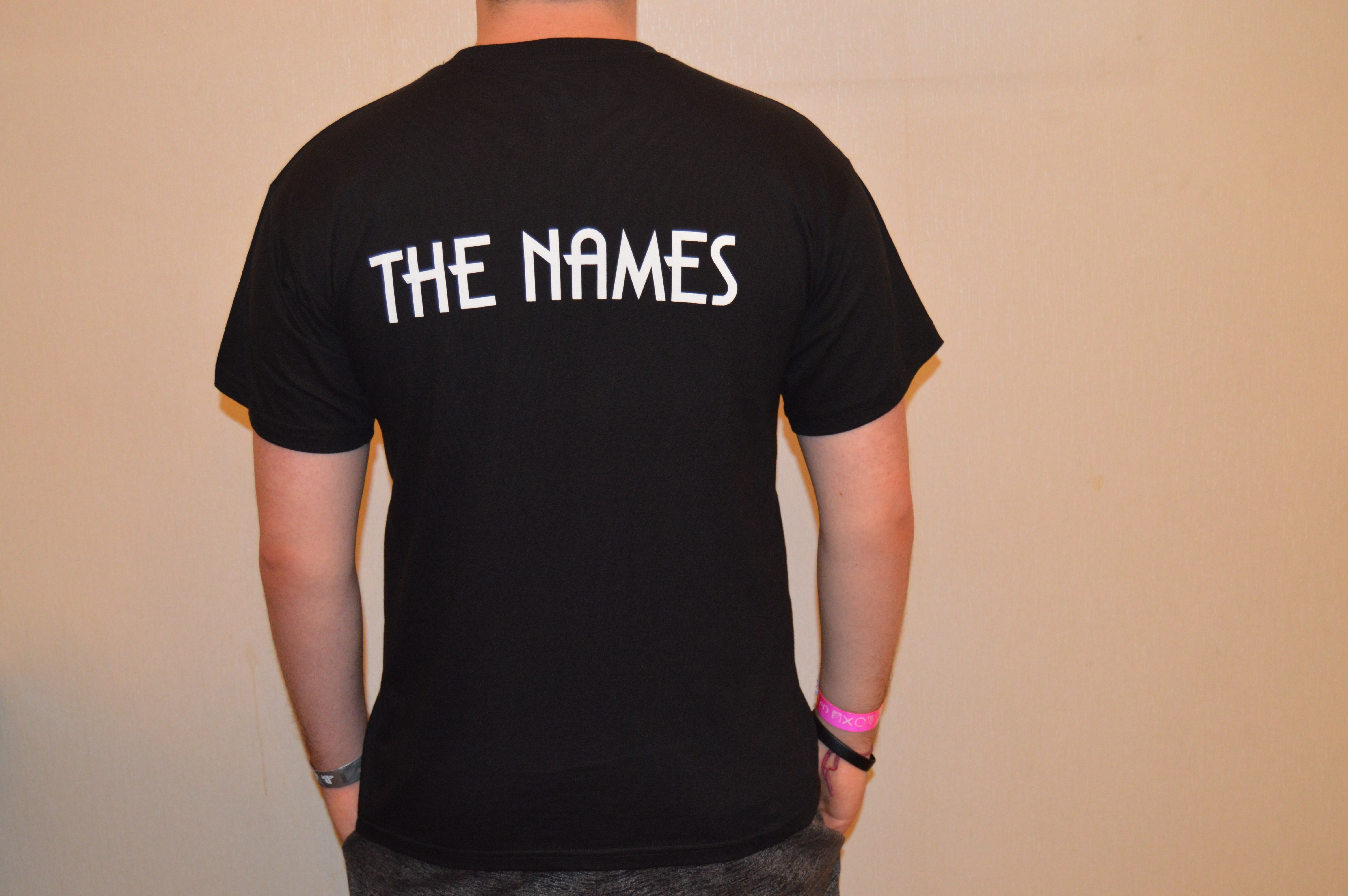 The Names - t-shirt