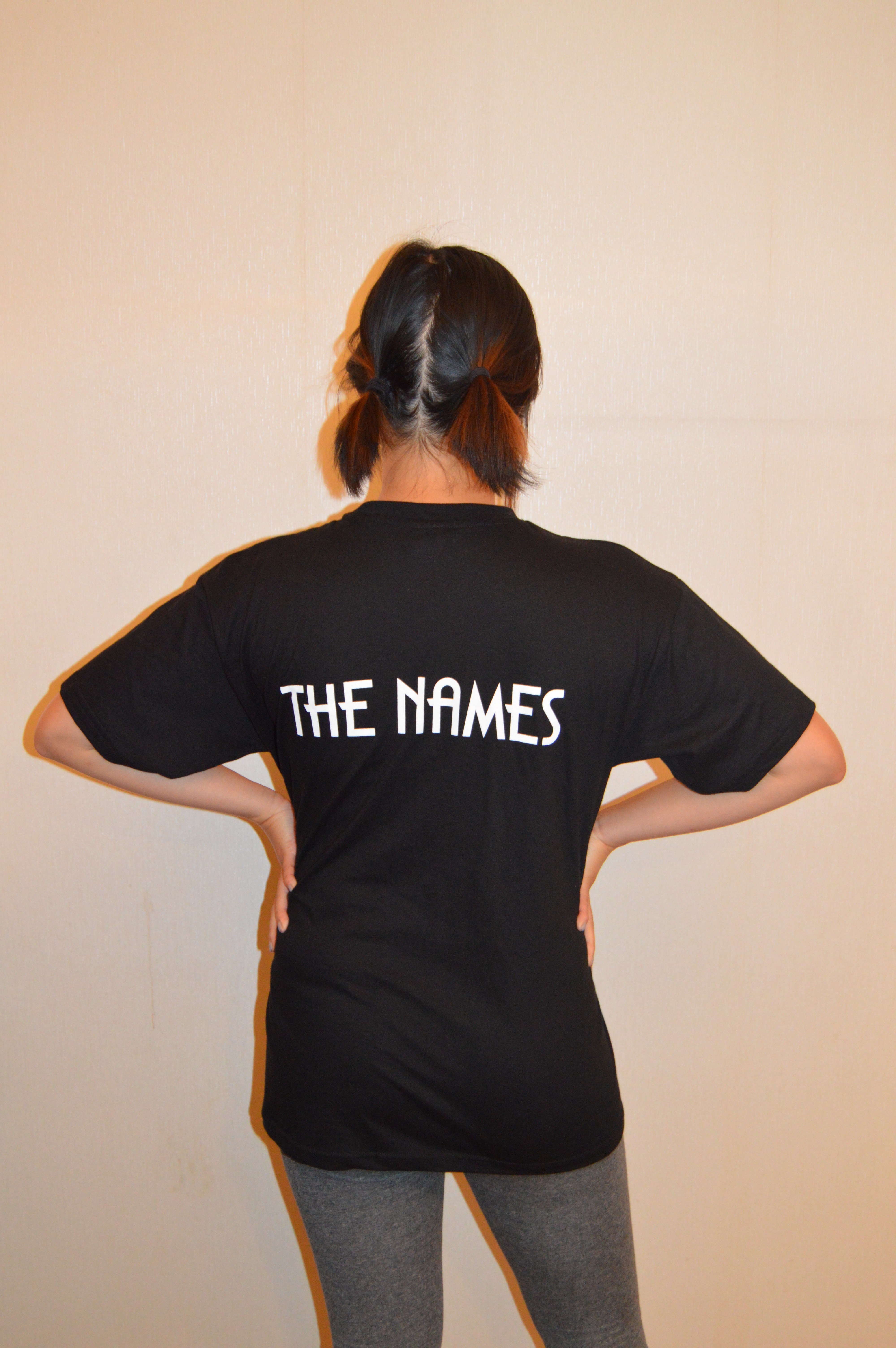 The Names t-shirt